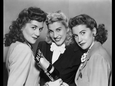 Andrews Sisters - Boogie Woogie Bugle Boy (1941)