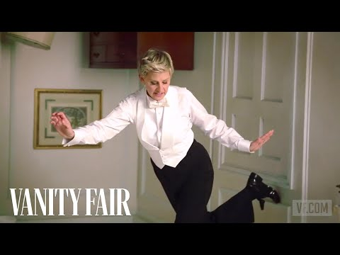 Ellen DeGeneres Poses for Annie Leibovitz
