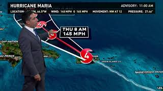 Hurricane Maria Outlook: Sept. 20, 2017