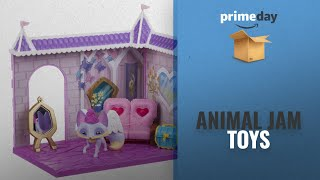 Animal Jam Toys: Animal Jam Princess Castle Den With Limited Edition Fancy Fox Playset