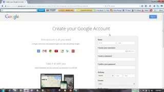 Bangla tutorial how to create a gmail Account