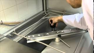 Koulutusvideo: Metos WD-6 -astianpesukone / käynnistäminen
