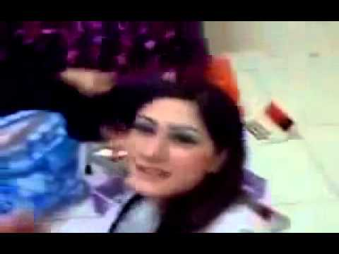 Pashto Actress And Singer In Makeup Room Private Video video