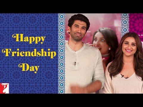 Aditya Roy Kapur & Parineeti Chopra - Wishing Happy Friendship Day - Daawat-e-Ishq