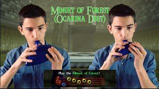 Minuet of Forest (Ocarina Duet) || STL Zelda Plastic Tenor & Bass Ocarinas