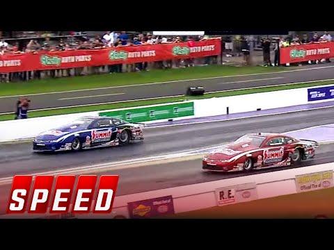 Greg Anderson vs Jason Line - Houston Pro Stock Final - 2016 NHRA Drag Racing Series
