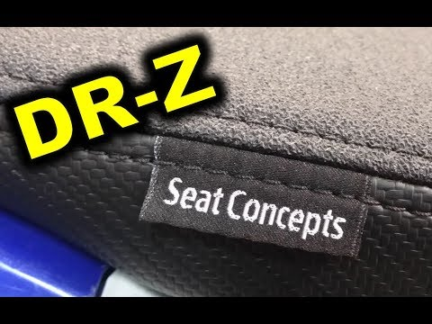 MANDATORY MODS!  DR-Z400 SEAT CONCEPTS full seat review  -  SUZUKI