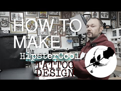 How to make COOL tattoo design fast