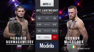 Khabib Vs  McGregor UFC 229 Full Fight