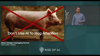 ALBERT WENGER - World after Capital | Rise of AI conference 2019