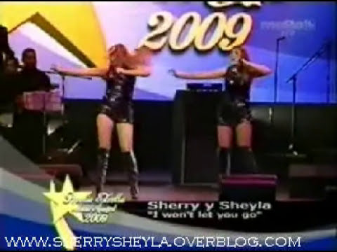Premio Estrella Music Award 2009 Sherry y Sheyla I wont let you go