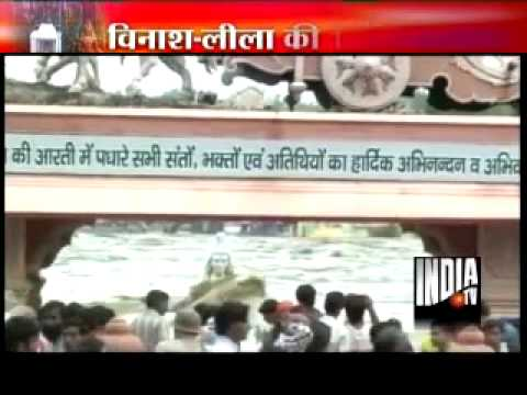 Heavy Flood in Rishikesh captured on camera