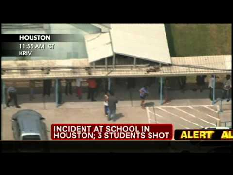 Incident at Houston Area School, 3 Students Shot