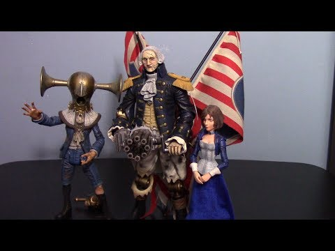 Neca Player Select: Bioshock Infinite Motorized Patriot Figure Review