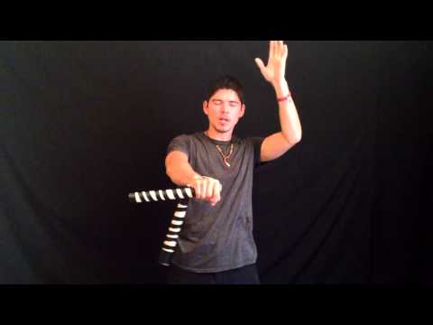 Awesome Nunchucks For Beginners #7: Wrist Rolls   Rips (ninja Circus Nunchaku Tricks ) video