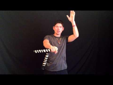 Awesome Nunchucks For Beginners #7: Wrist Rolls   Rips (ninja Circus Nunchaku Tricks ) video