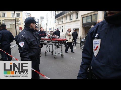 Attentat Charlie Hebdo. Premières images / Paris - France 07 janvier 2015