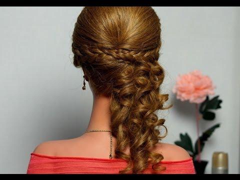 Причёски на длинные волосы на альбом