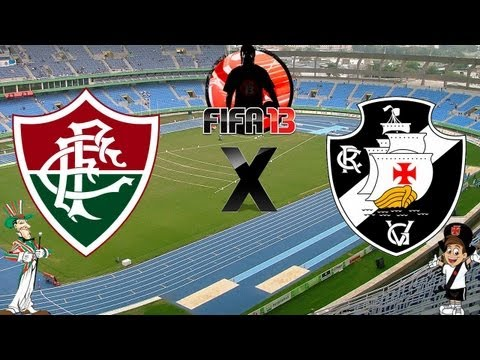 Fifa 13 - Fluminense x Vasco - Melhores Momentos - 09-02-13