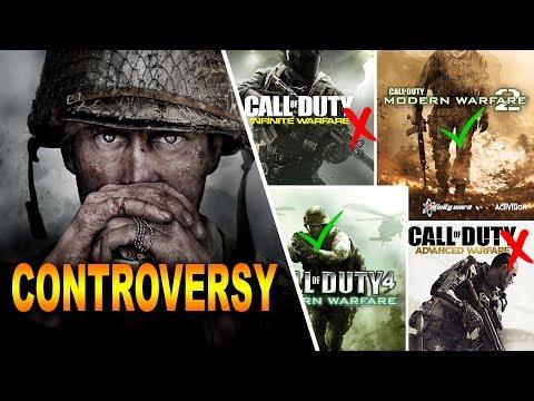 Call of Duty WW2 Controversial Story | No More Futuristic CODs? (ShopTalk)