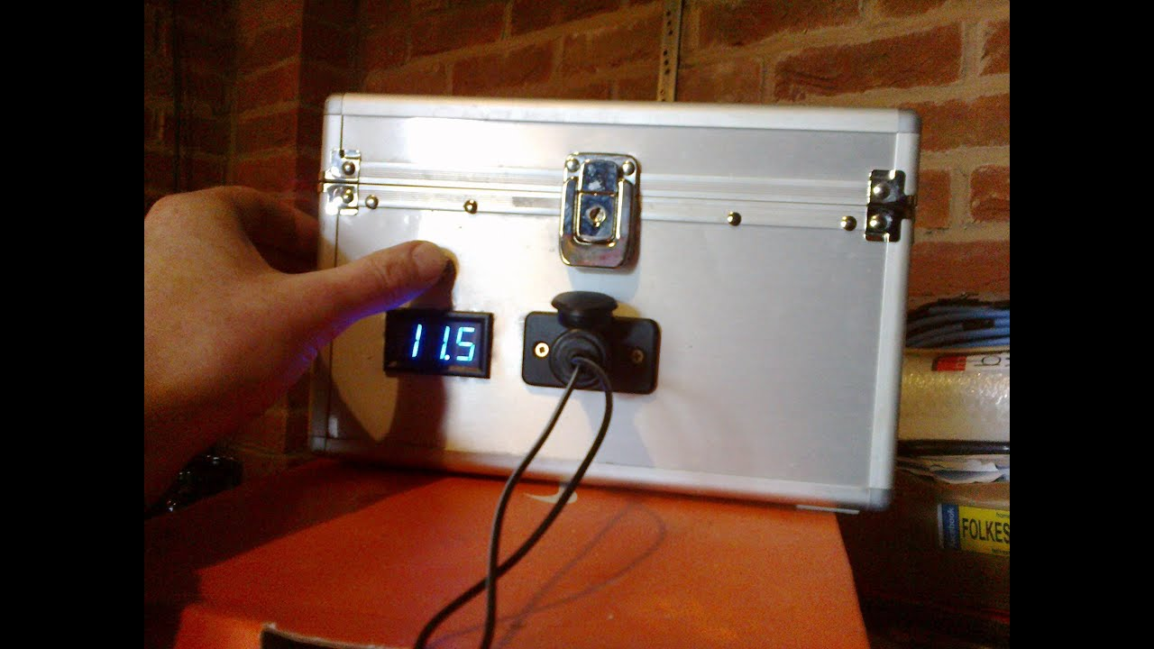 Small Portable 12v Solar System Youtube