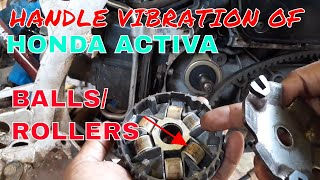 HOW TO FIX HANDLE VIBRATION OF HONDA ACTIVA.