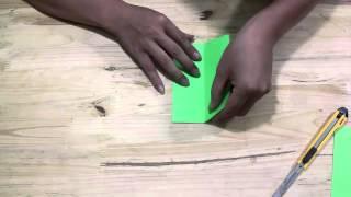 Khéo tay : hướng dẫn cắt hoa giấy 45 cánh