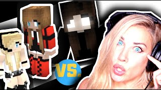 """REACTION: PSYCHO GiRL 16 """"SWEET TARTS""""   STALKED BY HEROBRINE'S DAUGHTER!   Minecraft Music Video"""