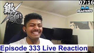 MADAO Suicide Attempt & Case Investigation! - Gintama Anime Episode 333 Live Reaction