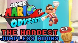 VG Myths - Super Mario Odyssey's Hardest Jumpless Moons