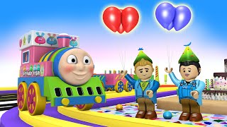 Happy Birthday with Thomas Train - Thomas The Train Cartoon for Kids - Toy Factory