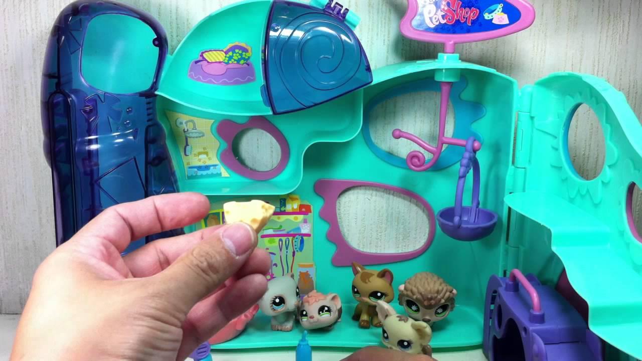 littlest pet shop playful paws pet daycare playset   youtube