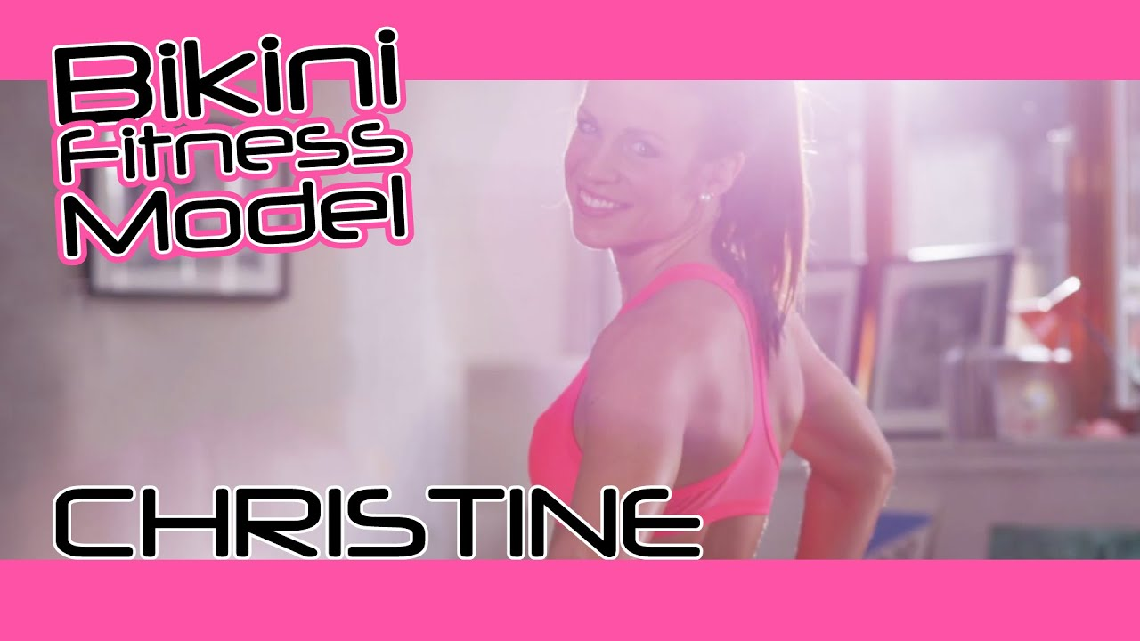 Bikini Fitness Model Sexy Workout Motivation #003