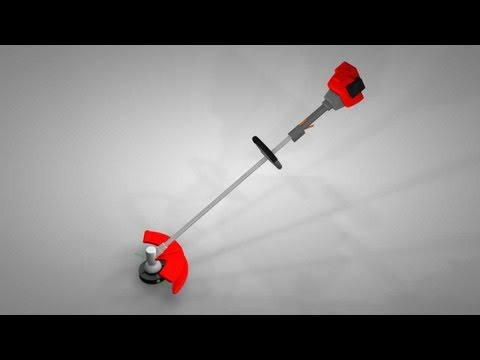 String Trimmer Repair - How It Works