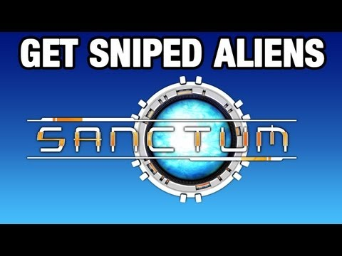 Get Sniped Aliens! | Sanctum | Dumb and Dumber