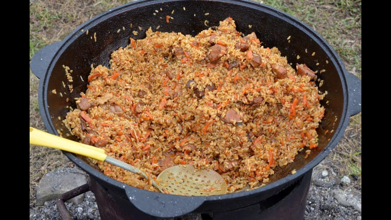 Рецепт ферганского плова пошагово в казане
