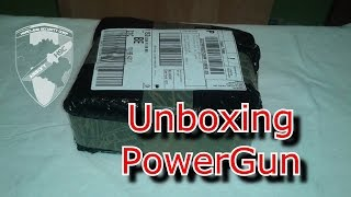 Unboxing Powergun