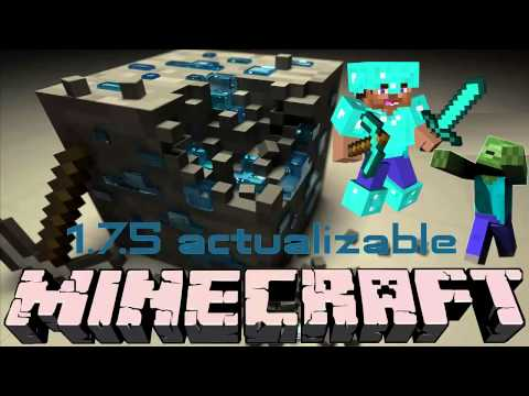 descargar e instalar Minegraft 1.7.5 actualizable ultima version 2014 | youtuber