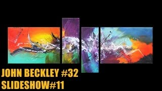 Abstract painting Slideshow #11 HD Video - John Beckley