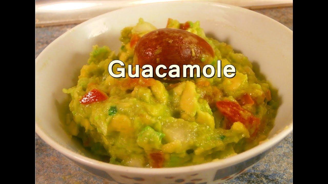 Guacamole mexicano casero recetas de cocina faciles rapidas y economicas de hacer youtube - Rectas de cocina faciles ...