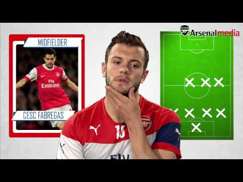 Jack Wilshere's ultimate XI including Fabregas, Gerrard and more!