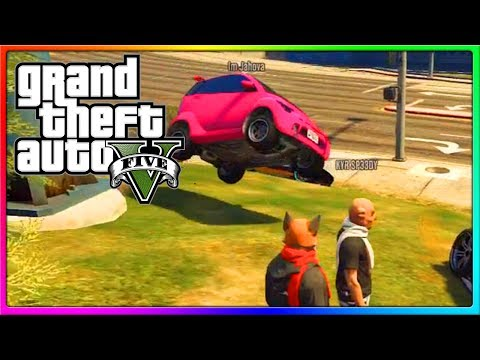 GTA 5 Online - Airheads VS Laffy Taffy, Deluxe 4 LOVES Lemon Periods, and other Funny Moments!