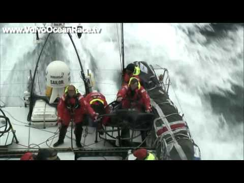 The full force of the Atlantic - Volvo Ocean Race 2008-09