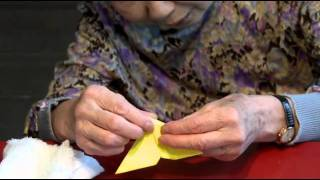 Origami Instruction By Mrs. Kiyo Yoshizawa