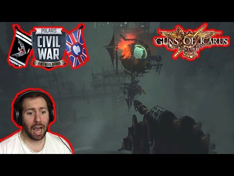 LOSING IS NOT AN OPTION! | Polaris Civil War: Guns of Icarus Online