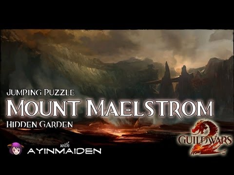 ★ Guild Wars 2 ★ - Jumping Puzzle - Mount Maelstrom (Hidden Garden)