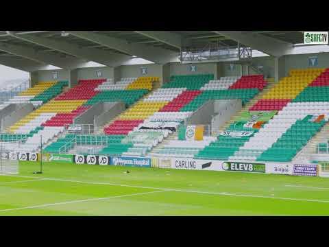 Pre match warm up Saturday 1st August 2020