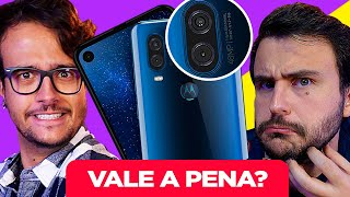 Tela de CINEMA no CELULAR + câmera de 48MP! 😱- Unboxing Motorola One Vision