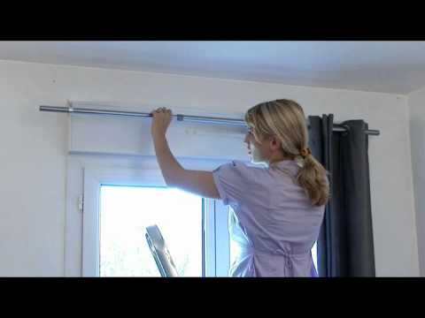 Ridorail ib barra de cortinas para caja de persiana for Como hacer un bando para cortinas