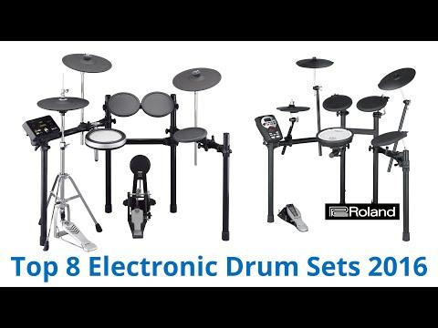 8 Best Electronic Drum Sets 2016